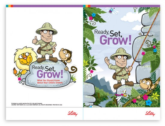 Children's Brochure Illustration