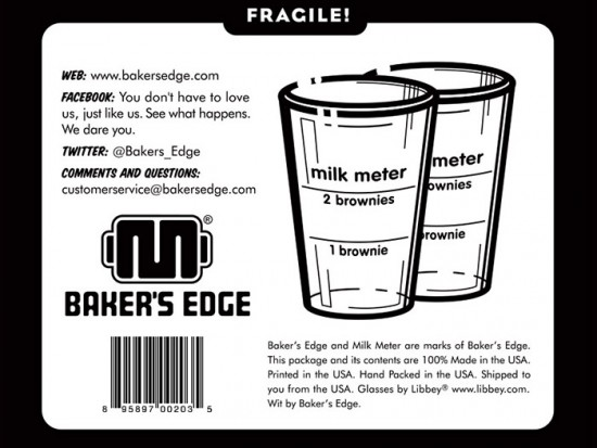 Baker's Edge Milk Meter Box