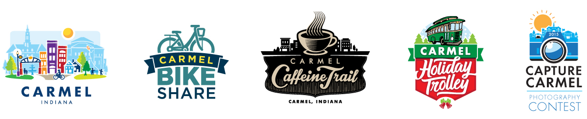 City of Carmel Identity Designs