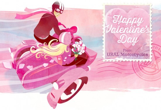 Ural Motorcycles: Illustrations
