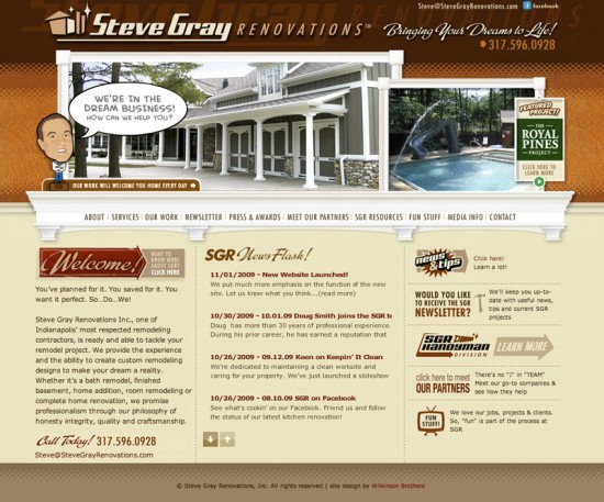 Steve Gray Renovations Website