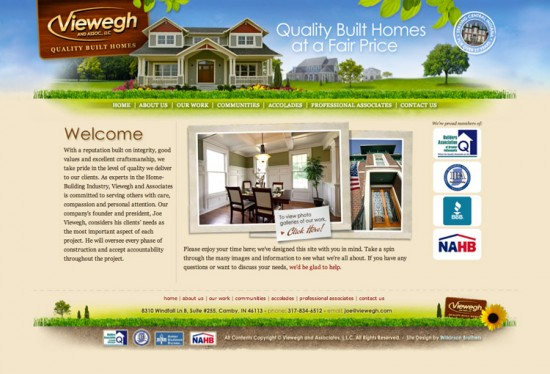 Viewegh and Associates Website
