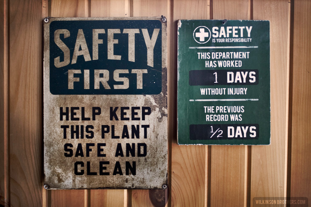 Wilkinson Bros Safety Signs