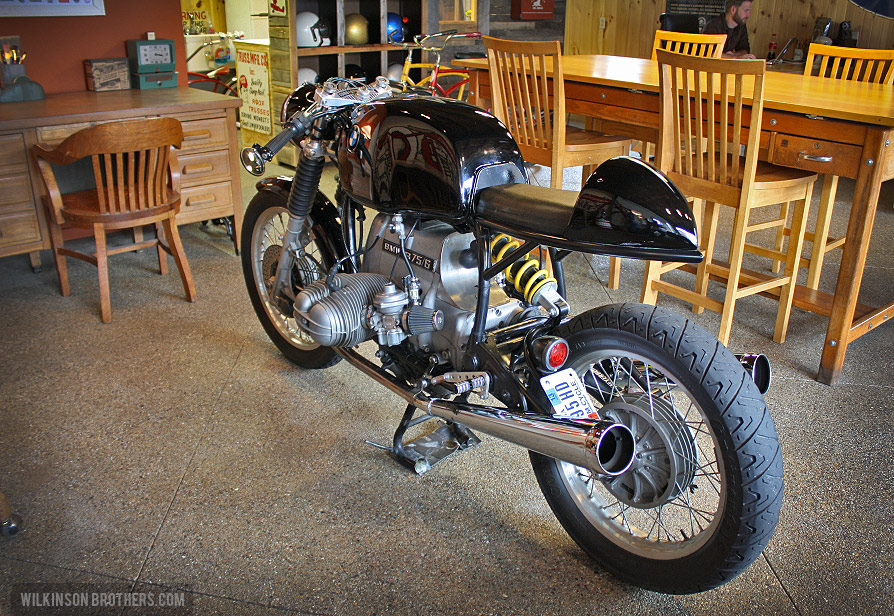 Casey Wilkinson's BMW Cafe Racer