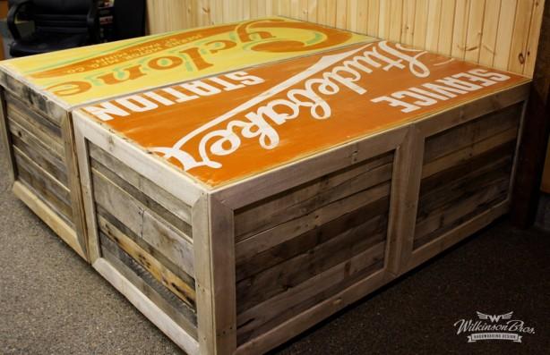 Wilkinson Bros Handmade Pallet Desks