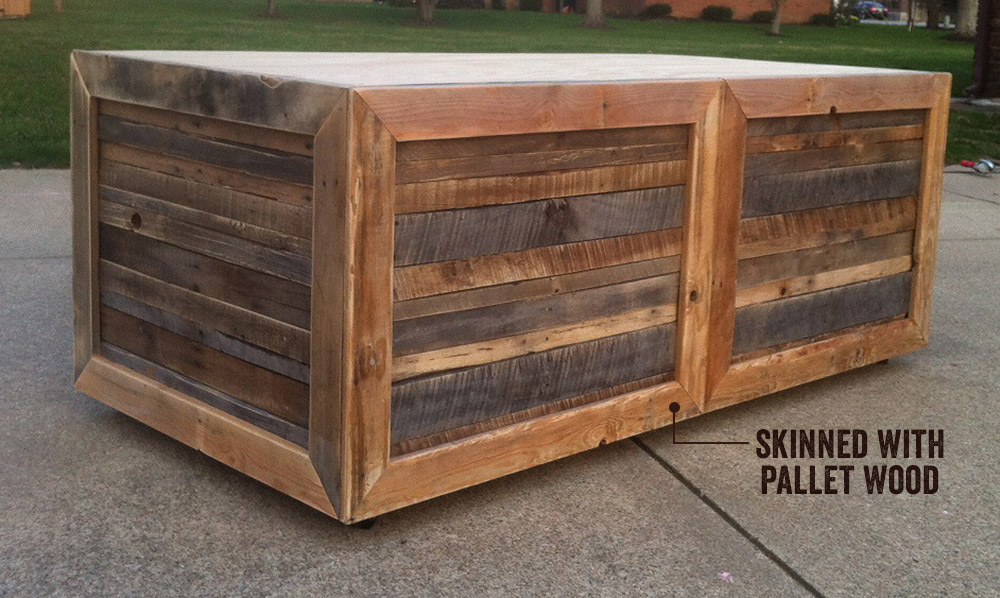 Pallet Craft Desk