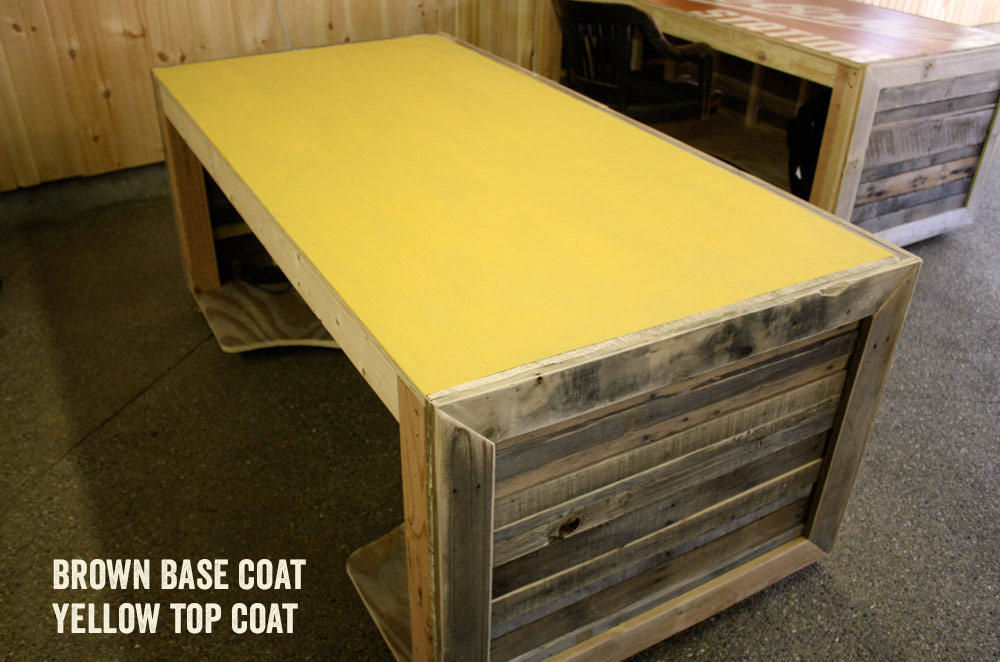 Pallet Desk Base Coat