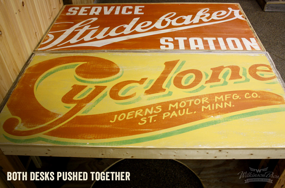 Vintage Sign Distressed Desktops