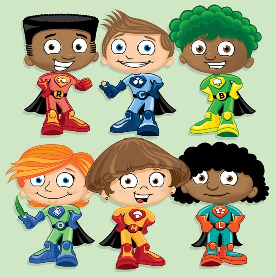Childrens' Health Characters