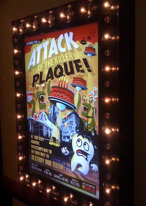 B Movie Poster