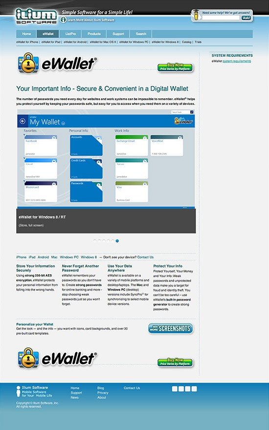 Website Design Ilium Software Wilkinson Brothers