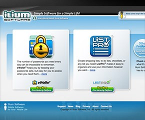 Website Design: Ilium Software