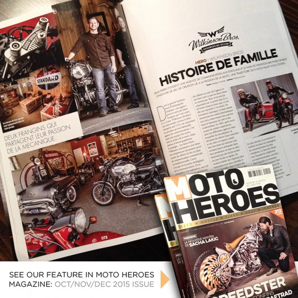Moto Heroes Features Wilkinson Brothers