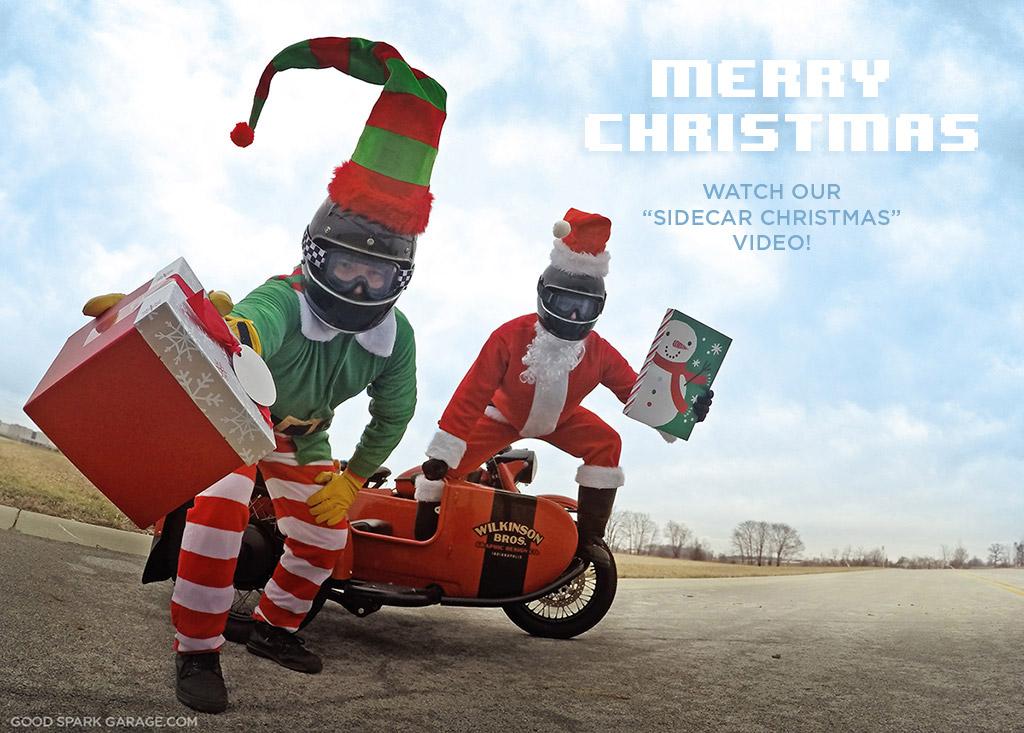 Merry Sidecar Christmas