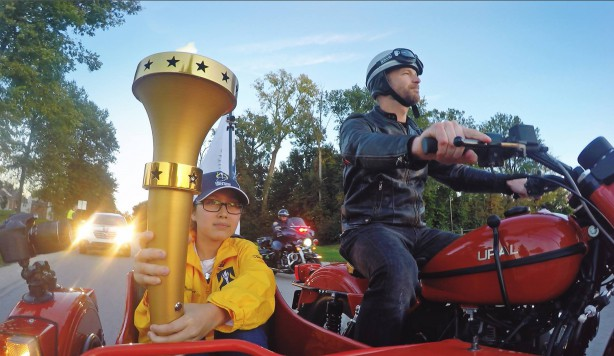 Indiana Bicentennial Torch Relay