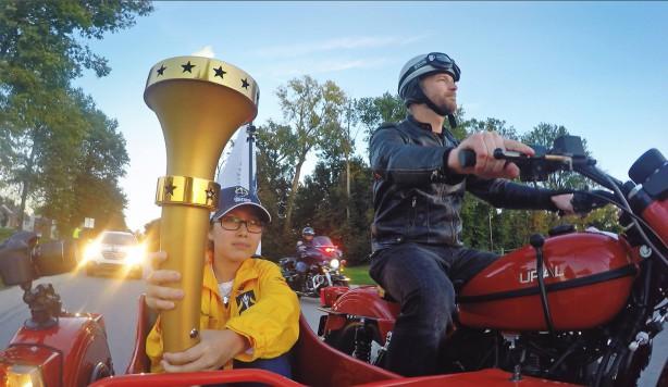 Indiana Bicentennial Torch Relay