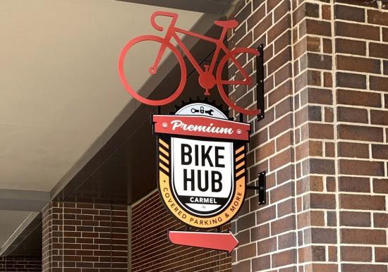 Bike Hub Signage