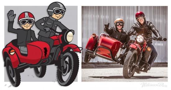 Motorcycle Mascots