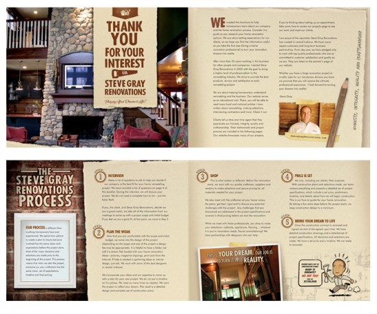 Steve Gray Renovations Brochure