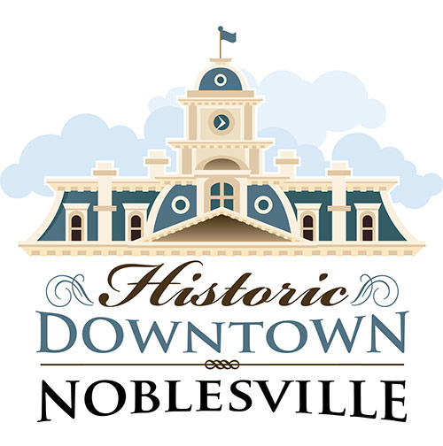 Noblesville Illustrated City Map