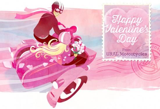 Ural Motorcycles: Illustrations