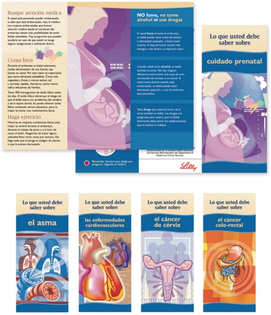 Lilly Health Illustrations