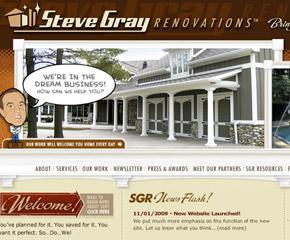 Steve Gray Renovations Website
