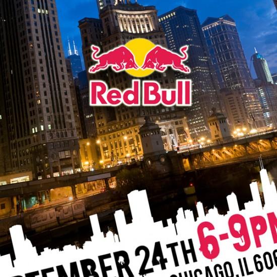 Red Bull – Print Invitation