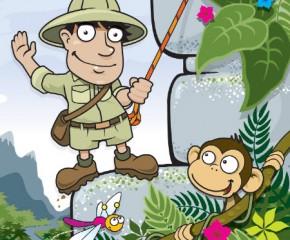 Children's Brochure Illustration