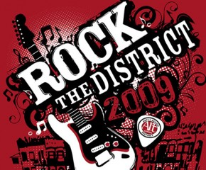 Rock the District Event Website