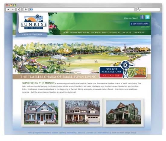 Neighborhood Logo & Website