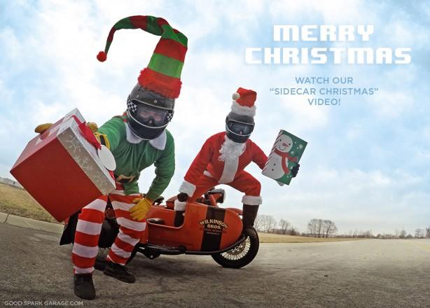 A Sidecar Christmas: Happy Holidays