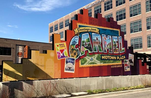 Carmel Midtown Plaza Mural